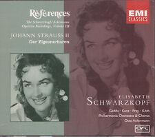Johann Strauss II - Zigeunerbaron - Schwarzkopf - EMI 2 CD