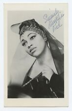 Leontyne Price (Opera): Signed Postcard Photograph as Leonora