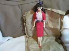 Mattel 1958-1993 Barbie Doll Malaysia Red Outfit -- Only 1 Red Shoe