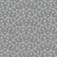 AU MAISON Wachstuch Claire Dark Grey dunkelgrau beschichtete Baumwolle 0,5 Meter