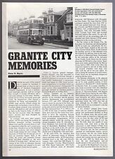 Buses Magazine Extract ~ Granite City Memories - Aberdeen in the 1970s - 1991