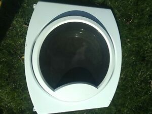 GE washing machine front panel, and door assembly, in good condition.