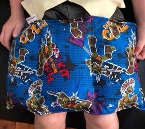 Handmade Weighted Mini Lap Blanket 1kg Ninja Turtles 40x20cm Autism SPD ASD