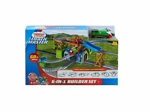 NEW THOMAS & FRIENDS TRACKMASTER 6-IN-1 BUILDER SET w/ PERCY FREE SHIPPING