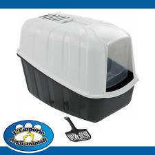 Zoofari Lettiera Chiusa Per Gatti Toilette Con Filtro e Paletta