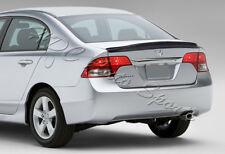 For Honda Civic 4-DR/Sedan Duck Real Full Carbon Fiber Rear Trunk Spoiler Wing