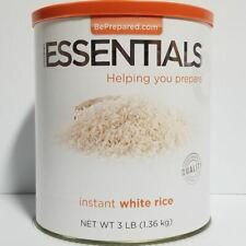 Emergency Essentials Freeze Dried Food Instant White Rice #10 Can