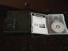 Nintendo black GameCube Gameboy Player and Startup Disc with Case DOL-017