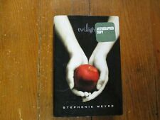 "STEPHENIE  MEYER   Signed  Book  (""TWILIGHT- 2005  First  Edition  Hardback)"