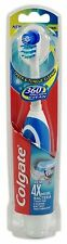 Colgate 360° Battery ToothBrush Cheek Tongue Clean Dual Action colours may vary