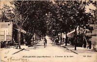 CPA  Juan-les-Pins (Alpes-Maritimes) - L'Avenue de la Gare   (514310)