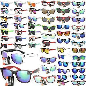 Sunglasses Retro Vintage 80's Mens Womens Ladies Designer funn Sunglass