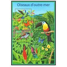 Bloc Feuillet BF56 - Nature de France - Oiseaux d'Outre-mer - 2003