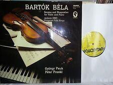 BARTOK - VIOLIN SONATAS RHAPSODIES PAUK  FRANKL 2 LP Hungaroton SLPX 12318-9 NM