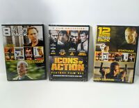 Big Action Movie Lot (New) 17 Movies on 3 DVDs - Statham, Stallone, Jackson
