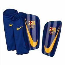 2017-2018 Barcelona Nike Mercurial Lite Shinpads (Red-Blue) Large