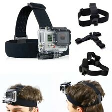 Elastic Adjustable Head Harness Belt Strap Band Mount for Gopro HD Hero 1 2 3+ 4