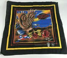 Harley Davidson Eagle Black Bandana Do Rag Made in USA