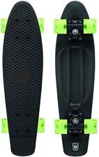 KID'S COMPLETO Skateboard Retro in plastica con LED accendere RUOTE -