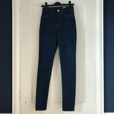 H&M Divided Women's Dark Blue Super Skinny High Waist Jeans - UK Size 6 - NEW