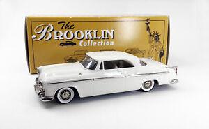 Brooklin Models 1/43 - BRK 19A 1955 Chrysler C-300 Hardtop Coupe - White