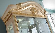 Glasvitrine Vitrinenschrank Glasseiten Hochglanz Stilmöbel Italienisch Klassisch
