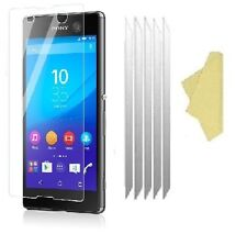 5 Pack Ultra Clear Screen LCD Protector Cover Guards for Sony Xperia M5