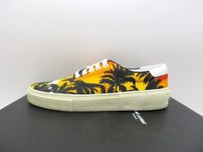 Saint Laurent YSL Womens Skate 20 Lace Up Sunset Palm Sneakers 38 8