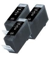 3 Canon BCI3BK Negro Cartuchos de tinta para Pixma , BJC , SERIE S Impresoras