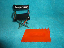 VINTAGE TUPPERWARE ORANGE CAKE DECORATING MADE EASY GADGET # 1558