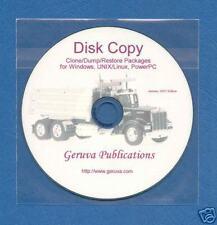 Disk Utilities Software-Copy Dump/Restore Clone Backup