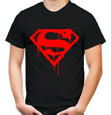 Superman's death hombres t-shirt | cómic culto Superman | red Print