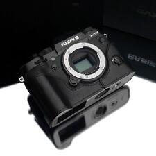 GARIZ Leather Half Case Fujifilm Fuji X-T2 XT2 XS-CHXT2BK Black