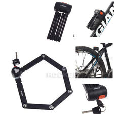 Etook Lock Bike Steel Foldable Lock  2 Keys 5mm 750mm Black New