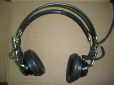 TDH-39 head phones headset Telephonics audiometer 300 ohm CAATC IR6-5 vintage