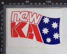 VINTAGE NEW 5KA AM RADIO ADELAIDE SOUTH AUSTRALIA ADVERTISING POS PROMO STICKER