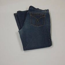 Calvin Klein Jeans Women's Flare Stretch Tag 16 Measures 35 x 28.5