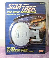 1988 Star Trek The Next Generation DIE-CAST USS ENTERPRISE STARSHIP Galoob NIP