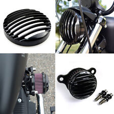 Rough Craft Air Intake Cleaner Headlight Grill For HD Sportster XL883 1200 04-14
