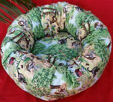 "Starbarks Pet Beds Small 18"" Washable Orthopedic Nesting Donut Dog Cat Bed USA"