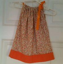 Little Baby kids Girls Clothing Pillowcase Summer Dress Handmade size 6 Months