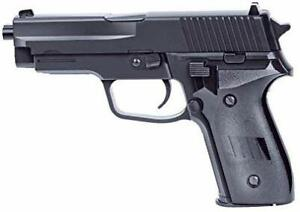 48x Softair Pistole Rayline 2124 Plastik 270 g Schwarz Energie <0.5 Joule