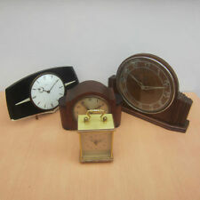 Brass German Collectable Clocks with Glass Dome