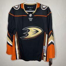 Adidas Anaheim Ducks Authentic NHL Jersey Climalite CA7064 Men's Size 52