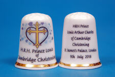 H.R.H Prince Louis of Cambridge Christening 9th July 2018 China Thimble B/41