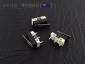 New Micro End Stop Limit Switch 3D Printer Prusa Mendel Rostock E3D (x3)