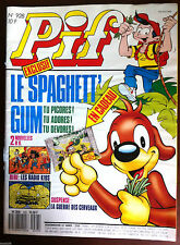 L)Pif Gadget n°928 du 01/1987; Poster Daniel Balavoine/ Les radios Kids