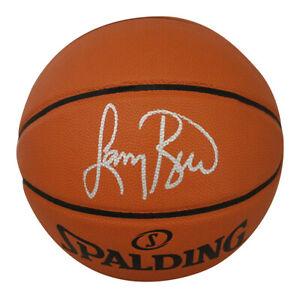 Larry Bird Autographed/Signed Boston Celtics Spalding Basketball BAS 29389