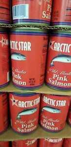 Pink Salmon Deep Sea Wild Alaska Canned 14.75 ea expire AUG 2024 (10 pack )