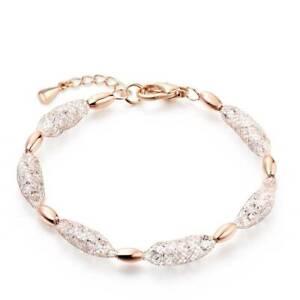 Gold Wire Wrapped Zircon crystal Bracelet #B54